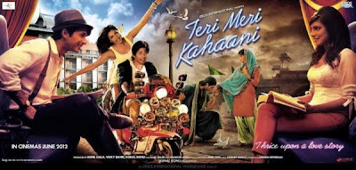Teri Meri Kahaani First Look Poster