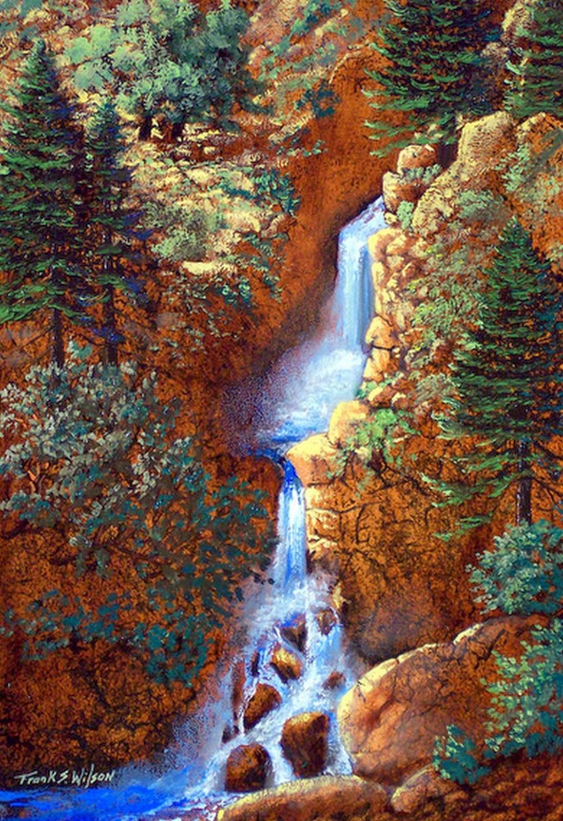 Cuadros modernos pinturas y dibujos paisajes hermosos - Los cuadros mas bonitos ...