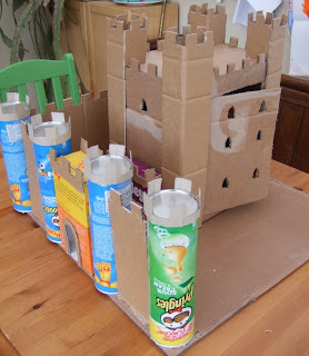 Emy 39 s crafty blog cardboard box castles part 2 for What type of cardboard are cereal boxes made of