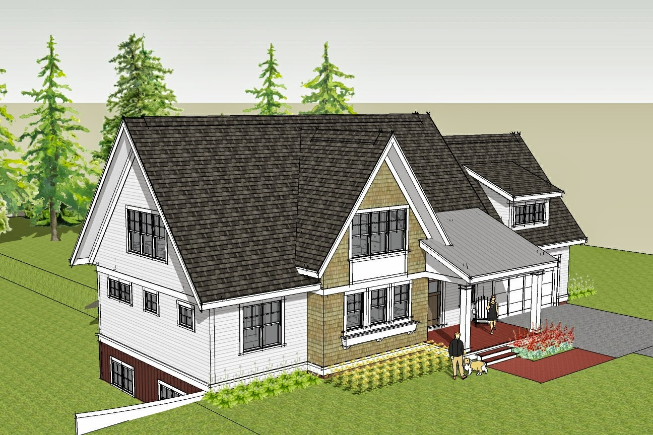 Simply elegant home designs blog new house plan with main for House plans for homes with a view