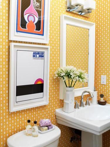 decorar banheiro pequeno gastando pouco: – Arquitrecos: Inspirações para banheiros charmosos gastando pouco