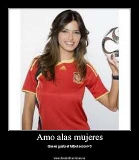 FUTBOL FEMENINO : I LOVE SOCCER!!!