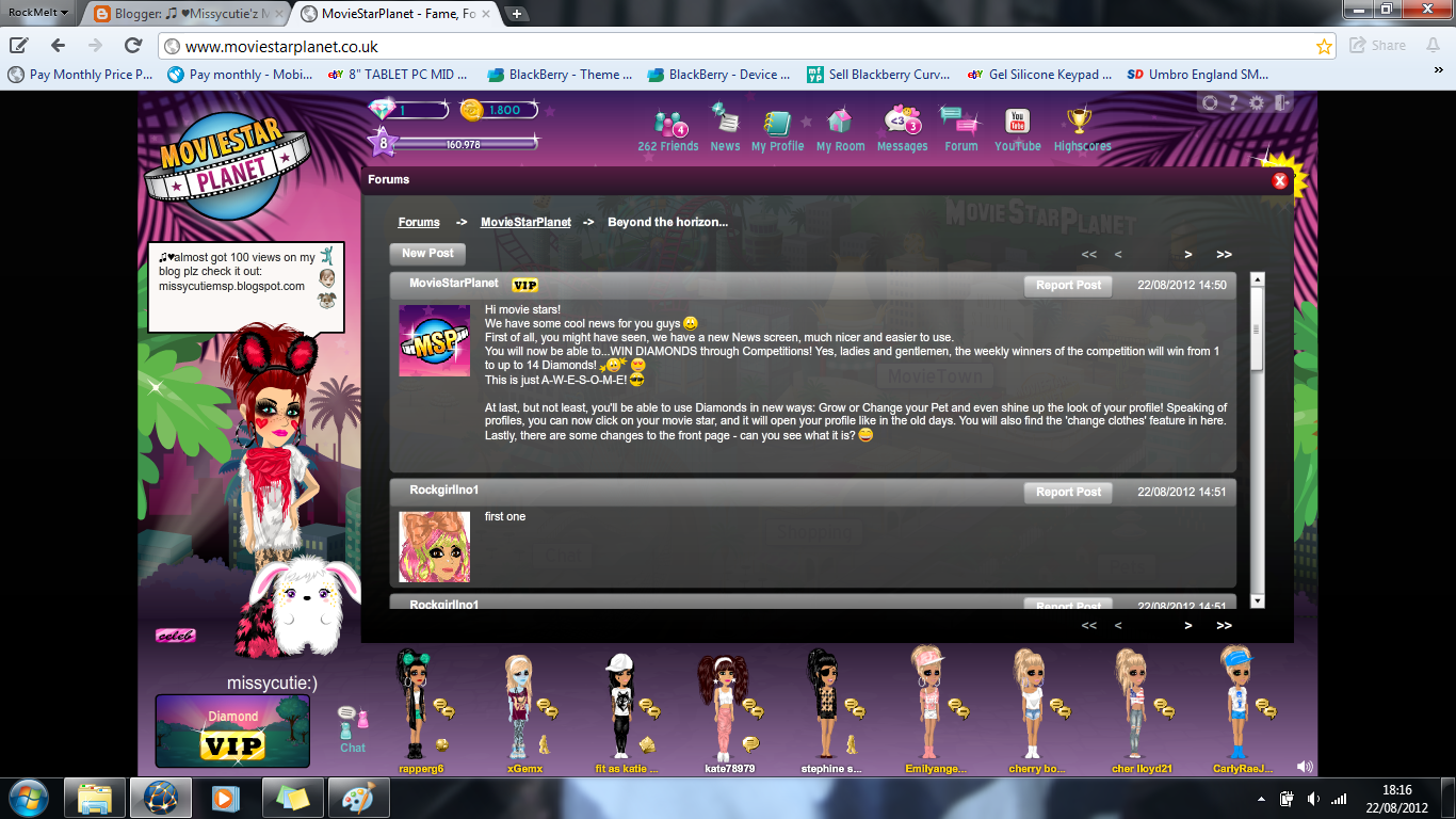 ... from de msp team about whats new you can find this on forums on msp