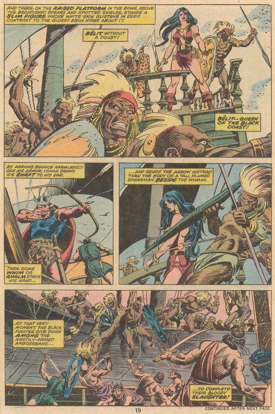 Conan the Barbarian (1970) Issue #58 #70 - English 14