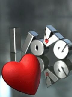 Srce LOVE download besplatne pozadine slike za mobitele