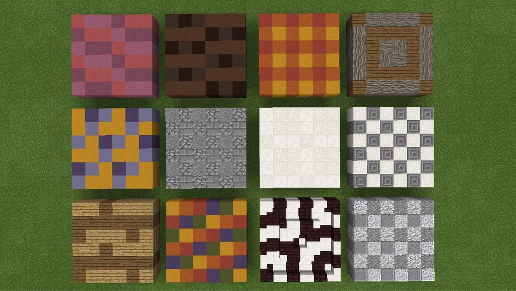 Zesa builders floor designs for Minecraft floor designs