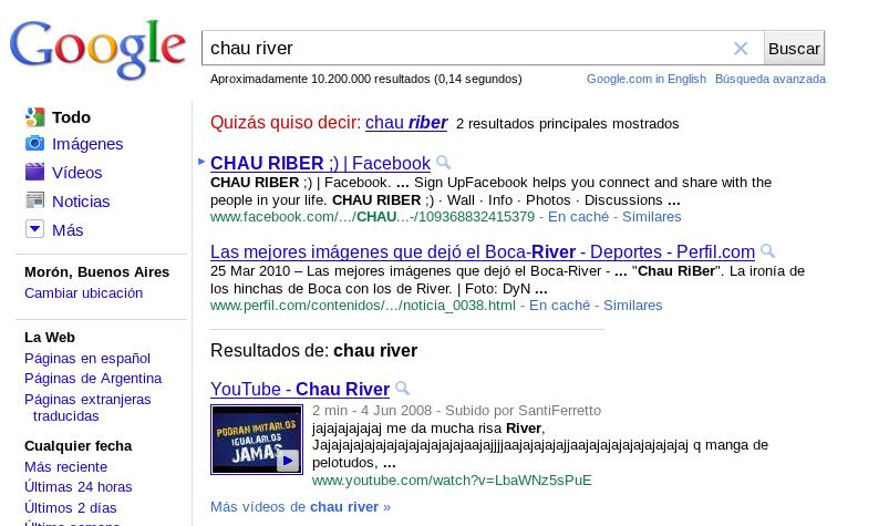 chau River