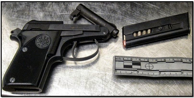 Loaded firearm discovered in carry-on bag at IND