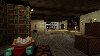 minecraft home library