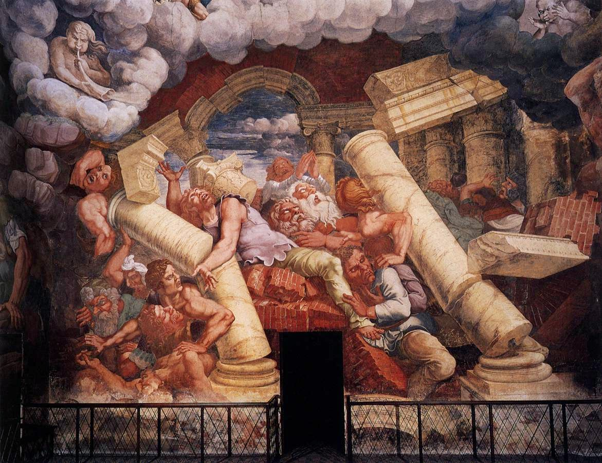 Giulio Romano - sala dei giganti