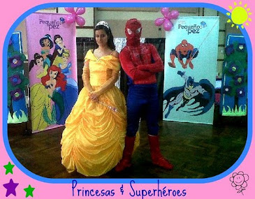 Princesas y Superhéroes