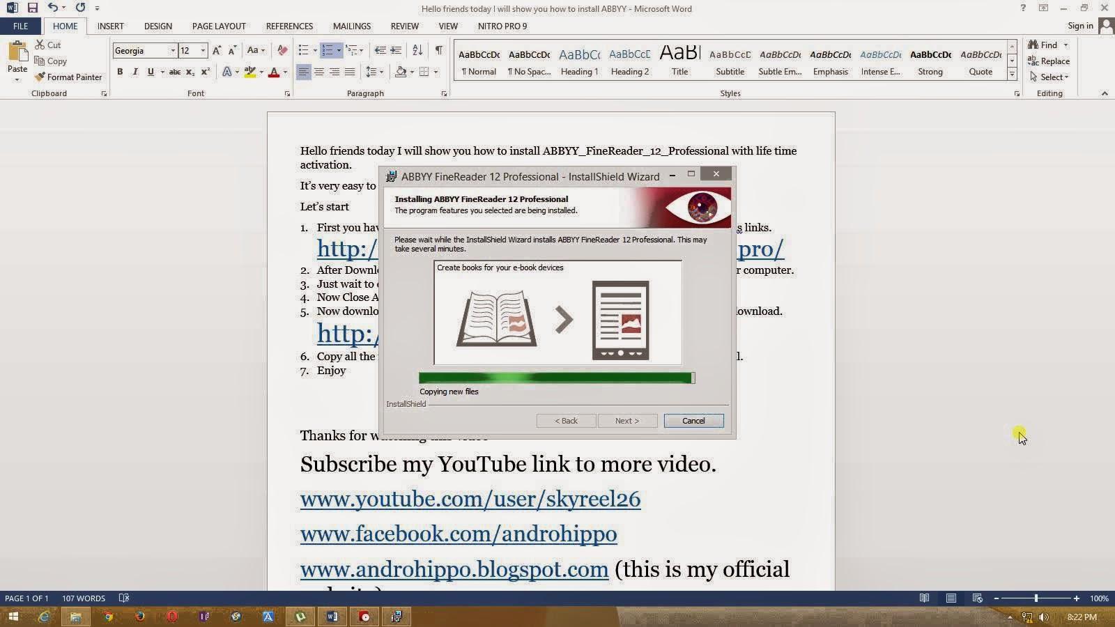 ABBYY FineReader Pro 12 screenshot