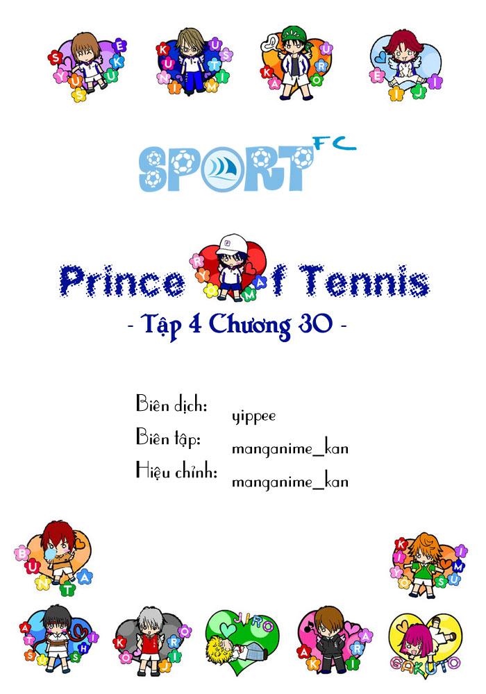 Prince of Tennis chap 30 Trang 1