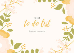 SCARICA GRATIS LE TO DO LIST