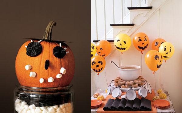 Jeitinho de Menina Decoraç u00e3o para o Hallo -> Decoracao Para Mesa Halloween