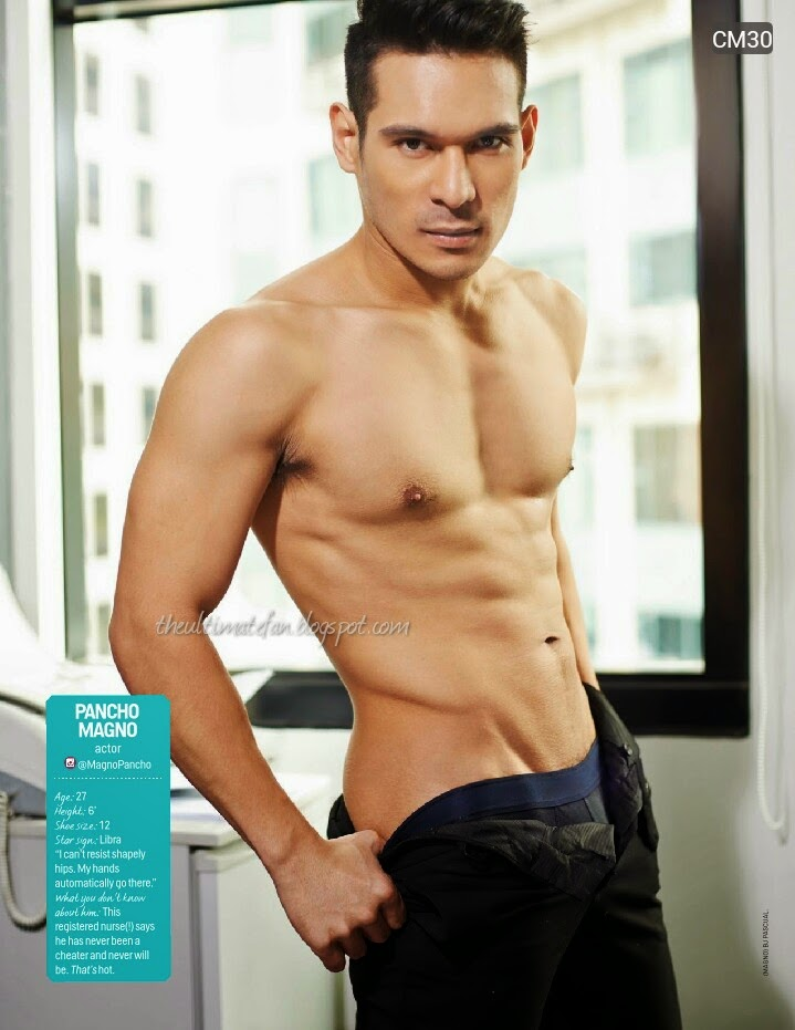 Pancho Magno - Cosmo Centerfolds 2014