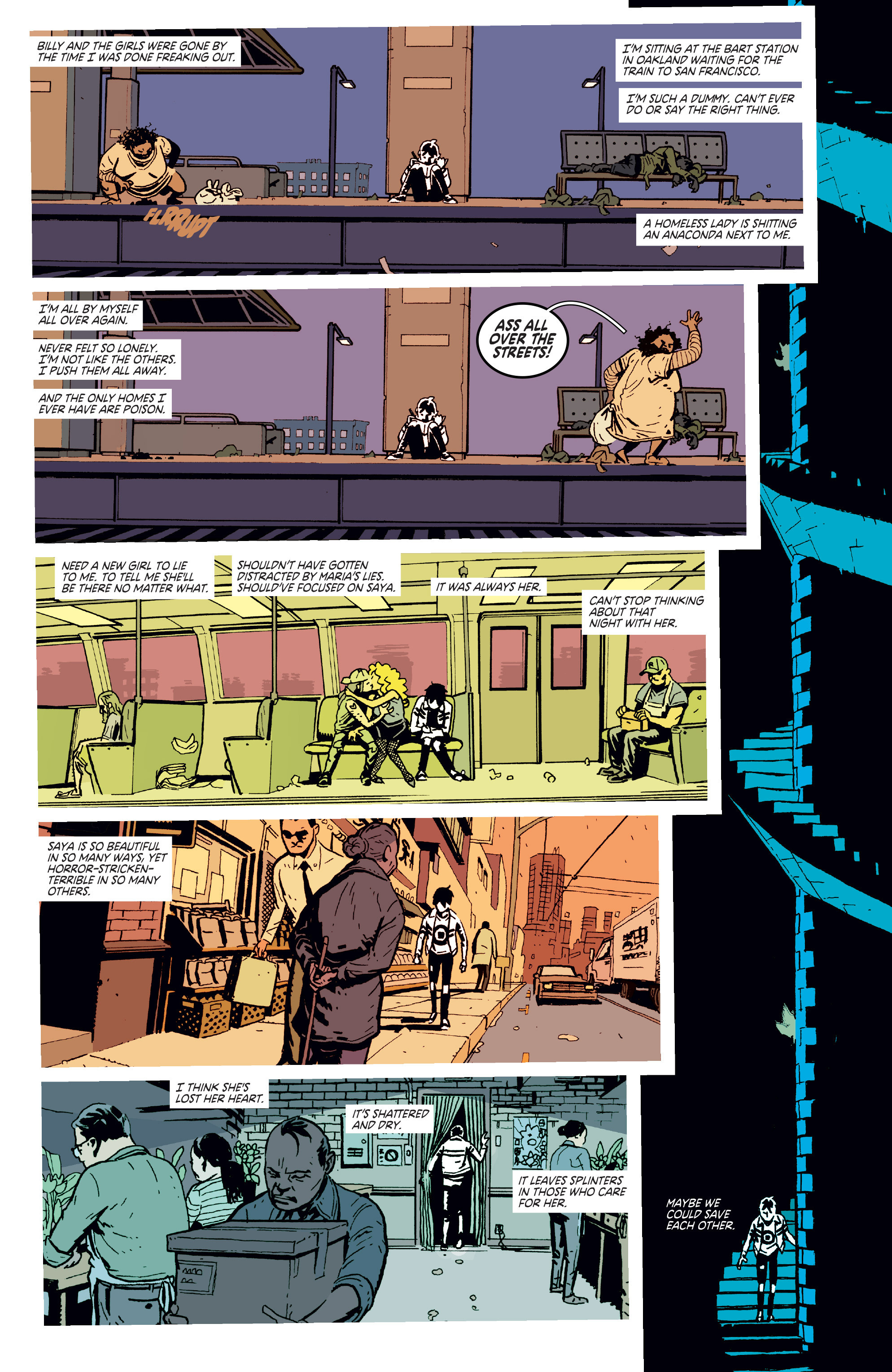 Read online Deadly Class comic -  Issue # _TPB 3 - 54