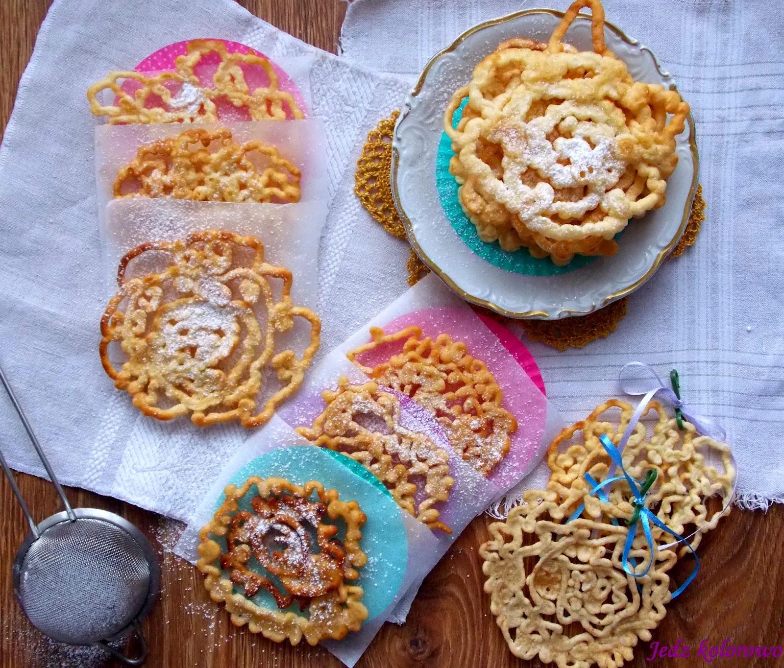 ciastka z lejka