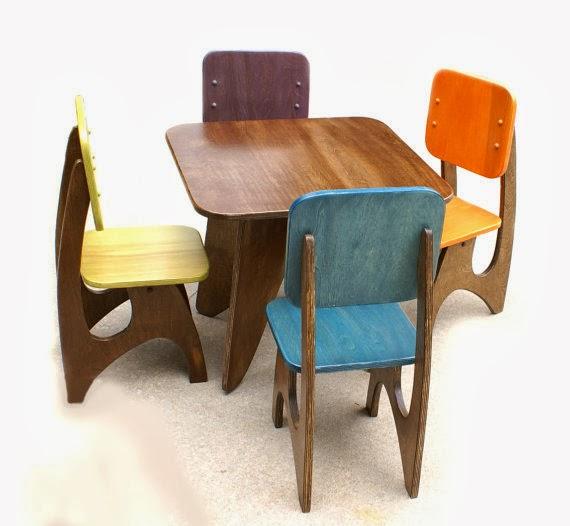Etsy Jesse Lee Designs Modern Child Table Etsy Stalkers