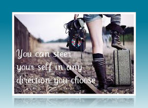 You can steer your self in any direction you choose