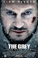 The Grey, Le Territoire des loups, Joe Carnahan, A Team, Liam Neeson, Narc, Affiche, James Badge Dale, poster, picture, top 2012