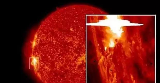 Η στιγμή που γιγαντιαία πόρτα ανοίγει στον Ήλιο! Δείτε το μυστηριώδες βίντεο