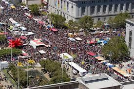 SAN FRANCISCO celebrates ...