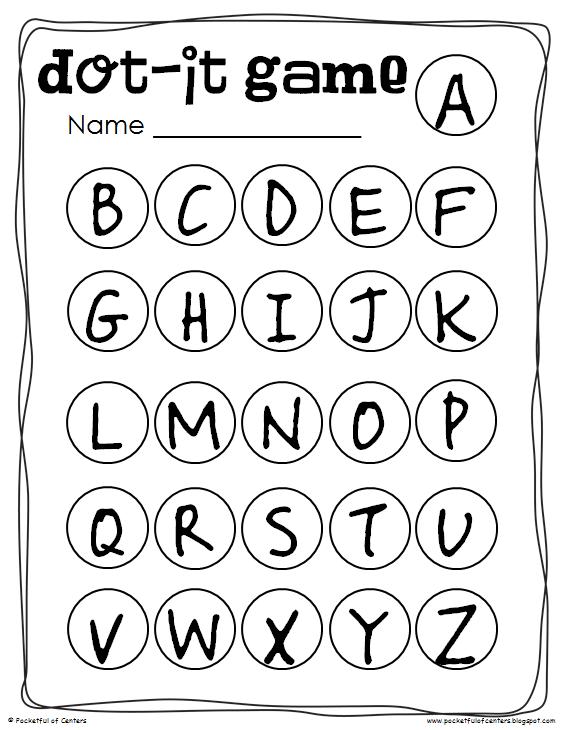 Kindergarten Letter Recognition Worksheets & abc recognition ...