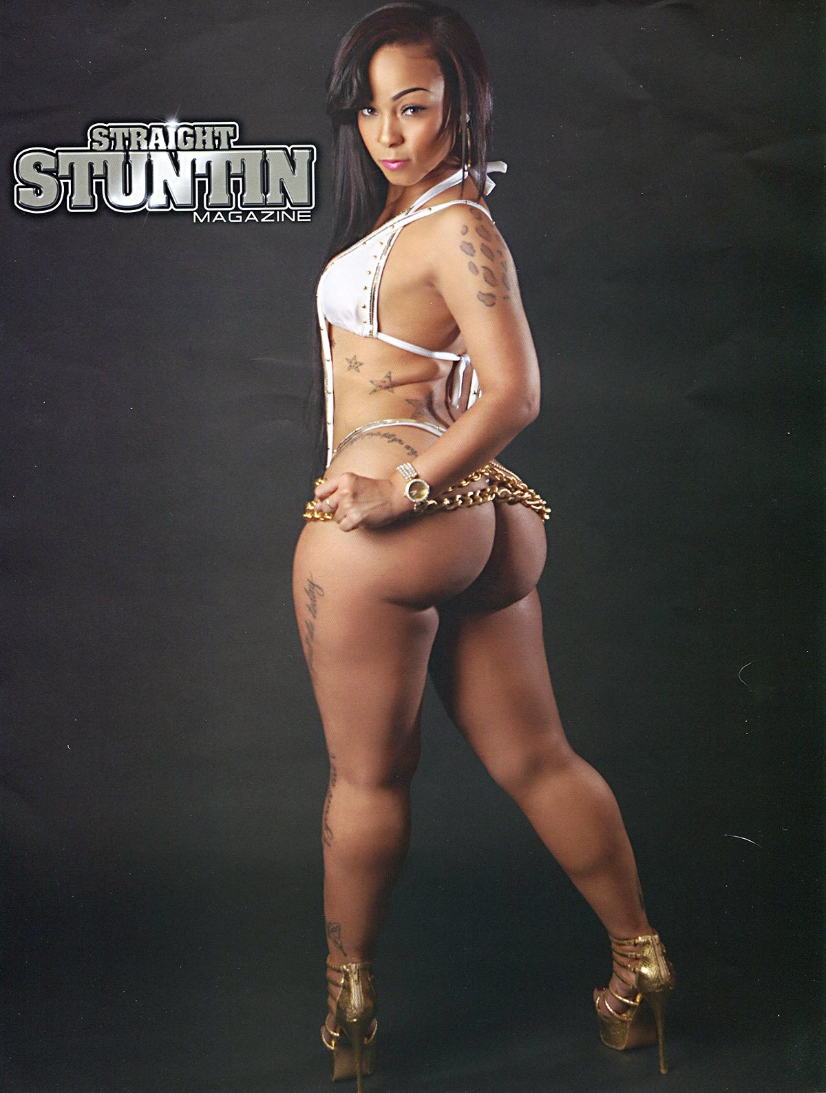 Mercedes Morr Featured In Straight Stuntin Magazine Issue ...