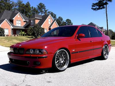 Modifikasi eksterior BMW 520i E39