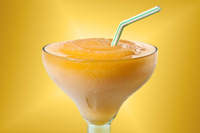 Peach Ginger Margaritas Recipe