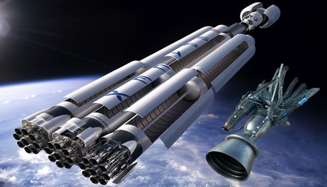 falcon heavy rocket concept-#15