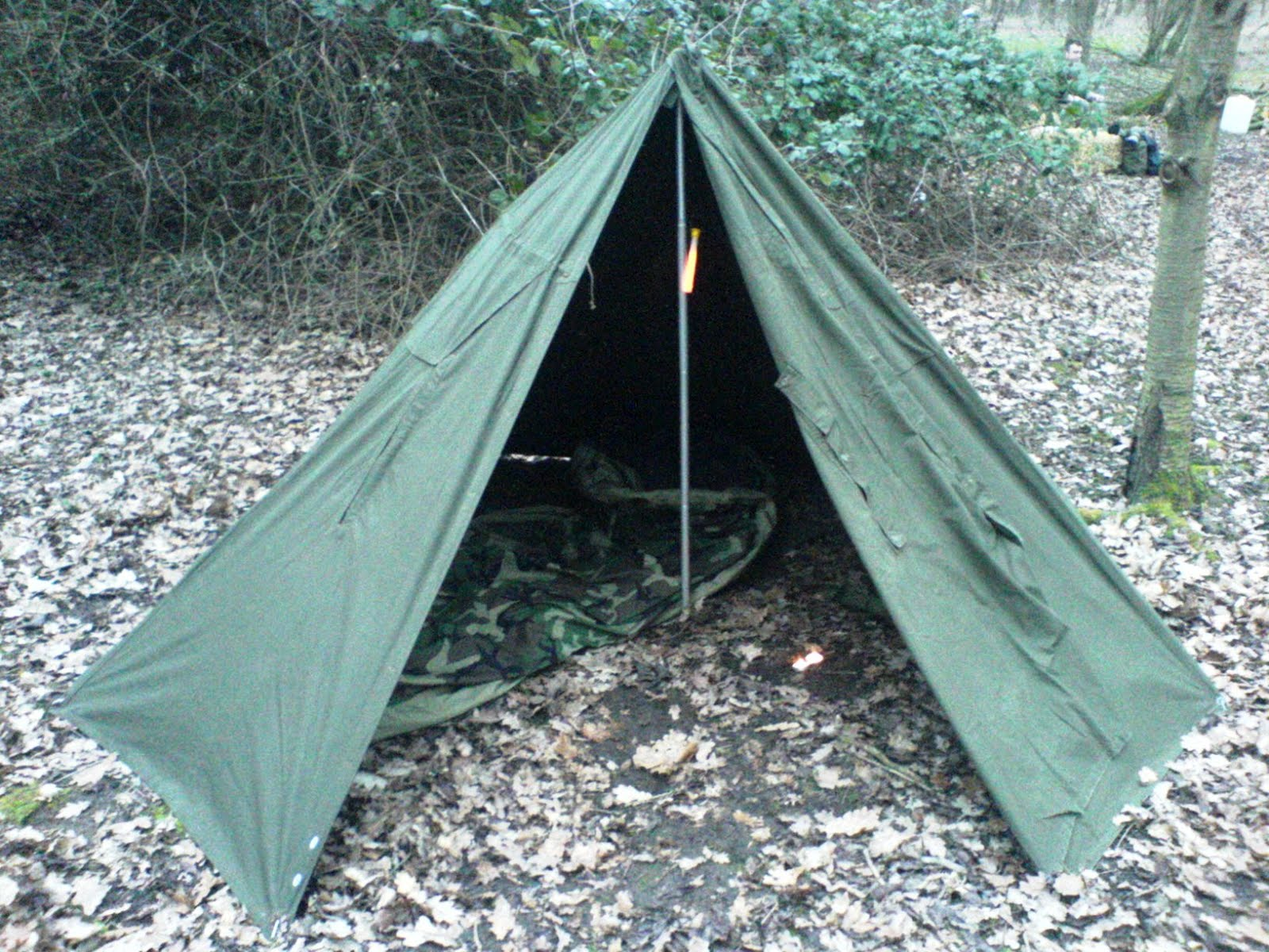 Polish Army Two Man Tent & Wilderness Living - : Polish Army Two Man Tent