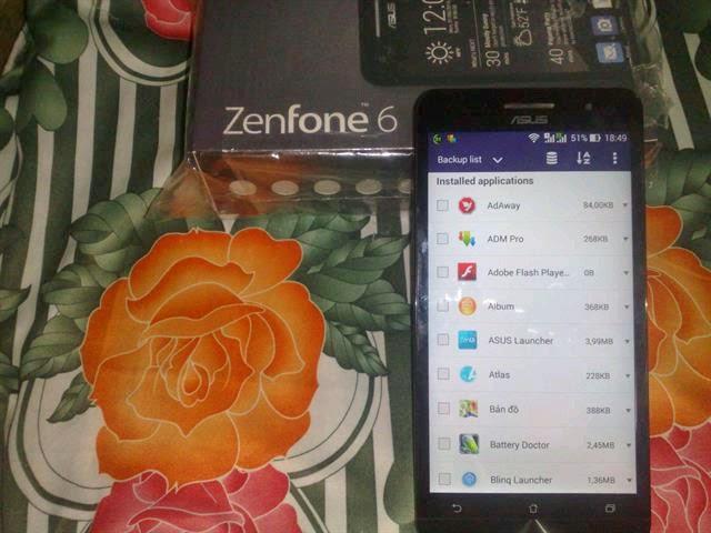 """Cách sao lưu dữ liệu trên Asus Zenfone """"nhanh, gọn, lẹ"""""""