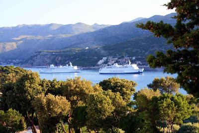 Two ferries arrive at Dubrovnik harbor © Copyright Monika Fuchs, TravelWorldOnline