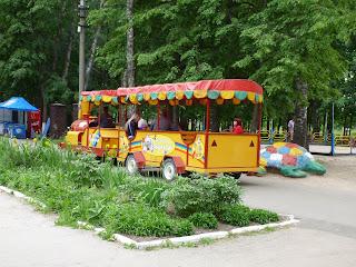Комсомольский парк, паровозик