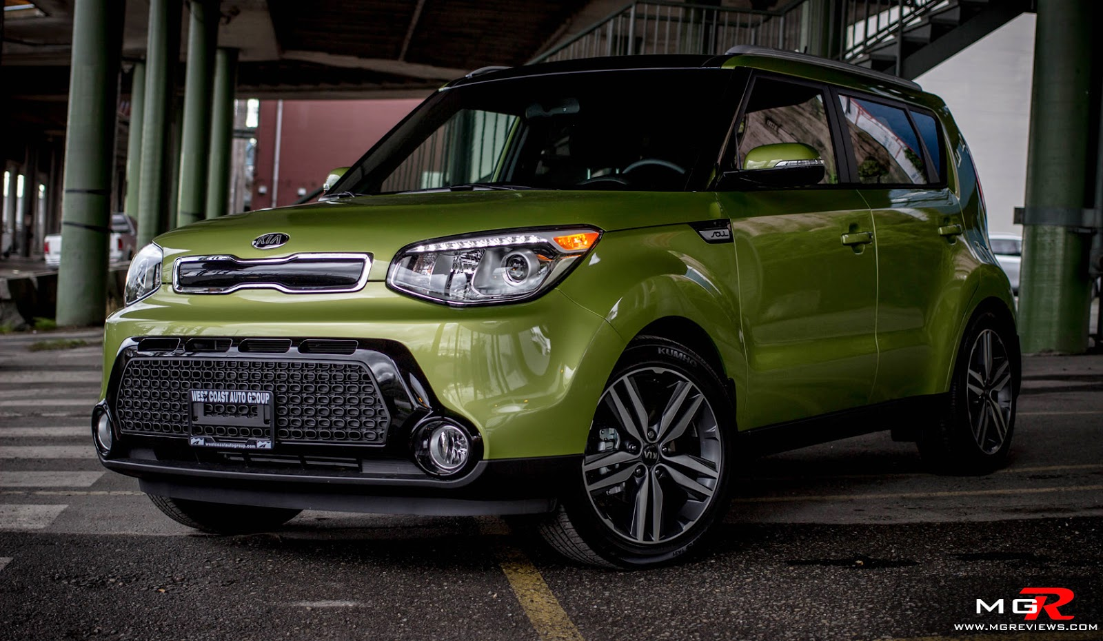 2015 Kia Soul Exclaim Alien Green Review High Definition