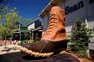L.L. Bean Maine hunting shoe - Freeport Maine
