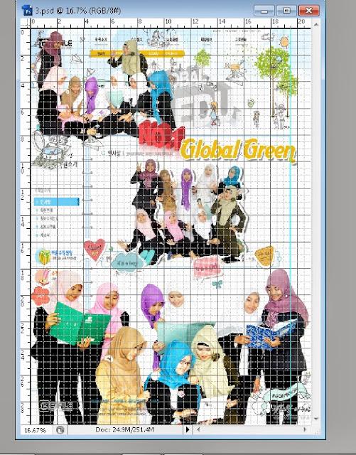 grid2 Trik membuat Desain Layout Dengan Photoshop