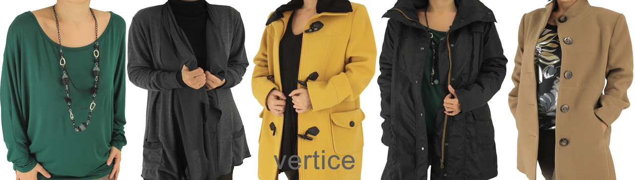 VERTICE PLUS SIZE CLOTHING FALL-WINTER 2012-2013