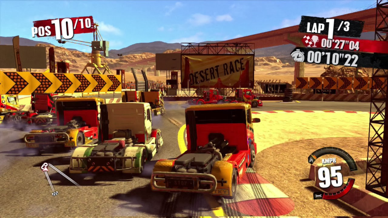 [www.gamegokil.com]Truck Racer Single Link ISO Full Version