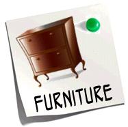 http://quizlet.com/10572900/furniture-flash-cards/