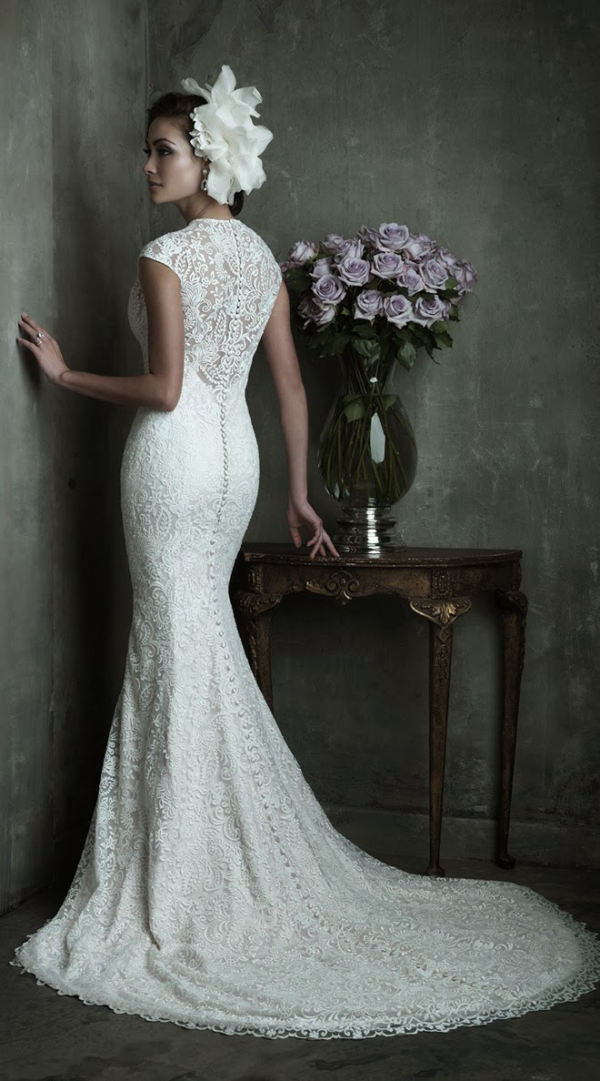Elegance Of   Wedding Dresses : Allure couture spring bridal collection belle the