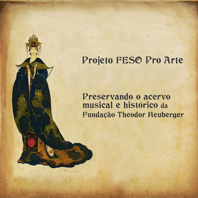 Centro Cultural apresenta a exposição do Projeto FESO Pro Arte – Preservando o acervo musical e histórico da Fundação Theodor Heuberger