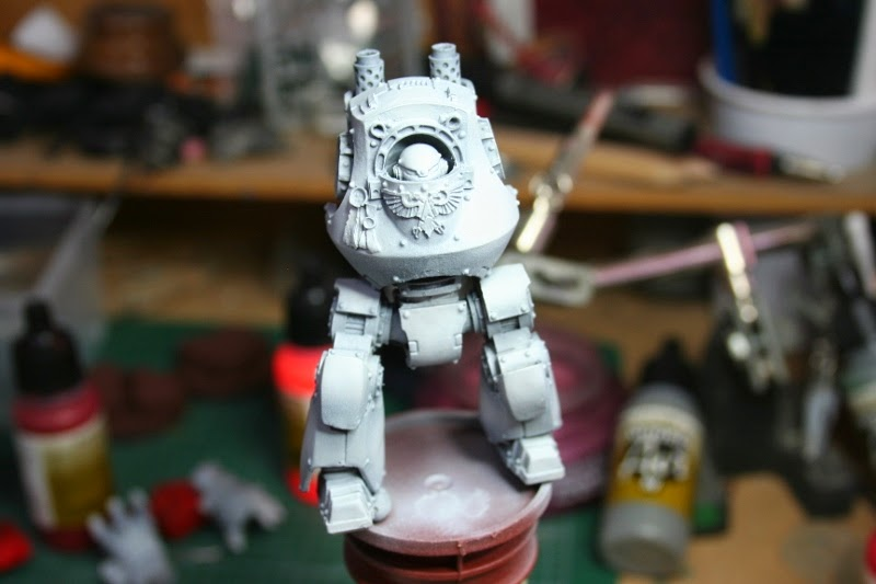 Capa final al cuerpo del Dreadnought