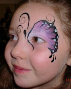 butterfly face painting pictures
