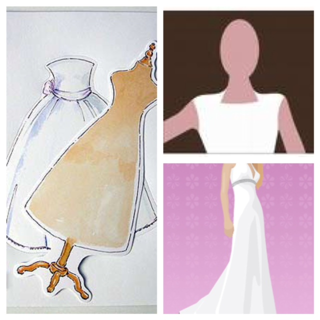 A bride 39 s design design your own wedding gown for Make your own wedding dresses