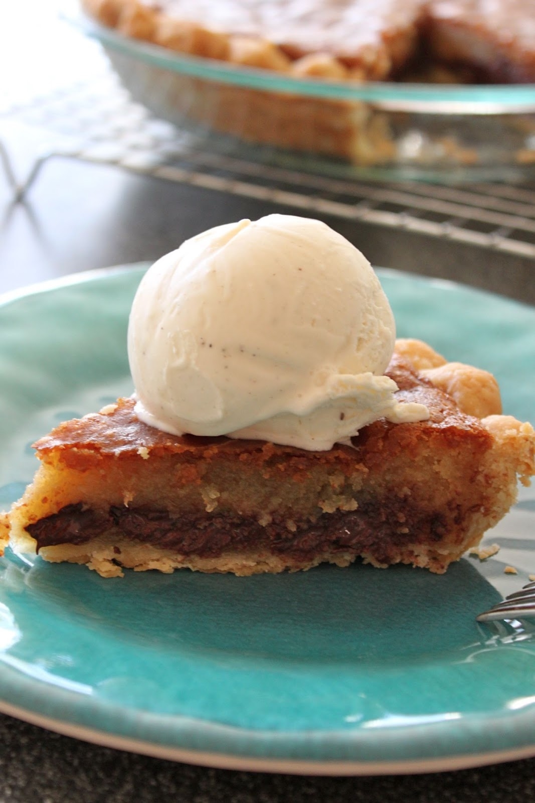 Baked Perfection: Chocolate Chip Cookie Pie