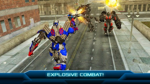 screenshot 2 TRANSFORMERS: AGE OF EXTINCTION - The Official Game v1.1.1