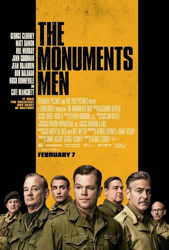 The Monuments Men (Hazine Avcıları) 2014